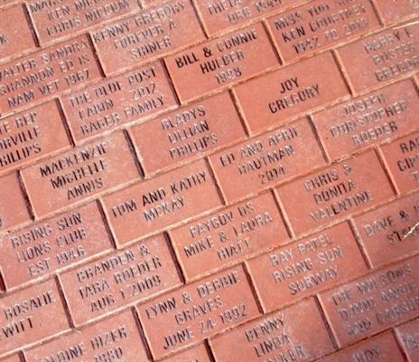 Second Chance To Purchase Bicentennial Bricks