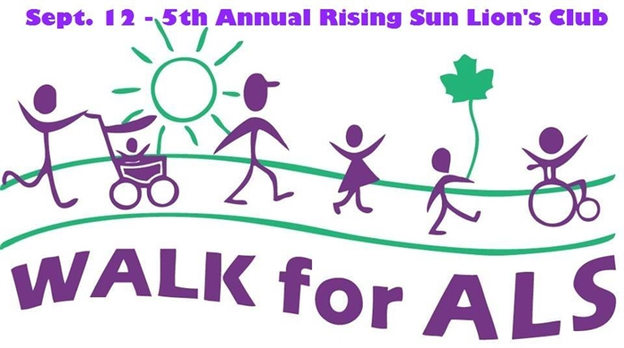 5th Annual ALS Walk Saturday, September 12