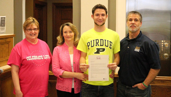 Congratulations to Jake Uhlmansiek – Ohio County Lilly Scholarship Recipient