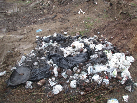 Illegal Dumping At Rising Sun Brush Dump 3/20 – 3/26/15
