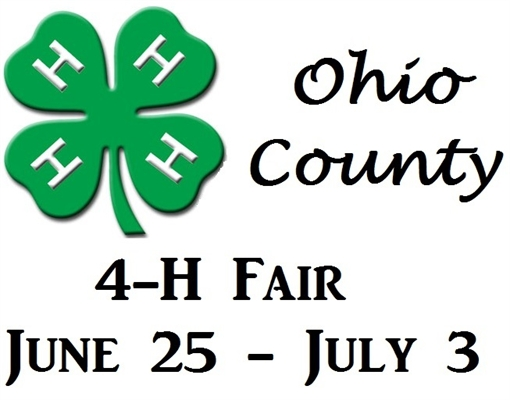 OHIO COUNTY 4-H, JUNE 25 – JULY 3