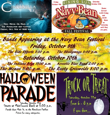 What's Happening in Rising Sun In October