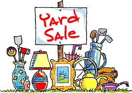 Registered Participants for May 3-5 Community Yard Sale (final update 1 pm 5/2)