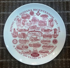 Bicentennial Plates and Bean Goodies for Sale, Ride Ticket Info