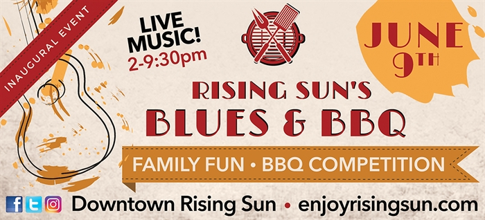 First Blues & BBQ Event Is June 9
