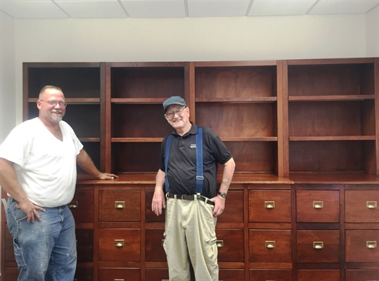 Crafty Carrigan Creates Clerk Cabinet