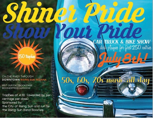 Shiner Pride Car Show Is July 8