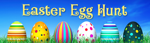 Community Easter Egg Hunt Sat., April 4 at 10:30 a.m.