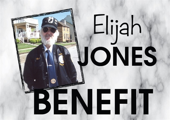 Elijah Jones Benefit Is April 7