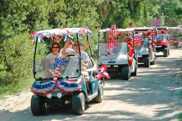 First Fireworks Golf Cart Parade Joins Annual Blast Event