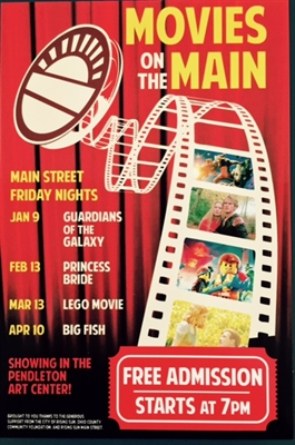 Movies At The Pendleton Art Center Jan. – Apr.