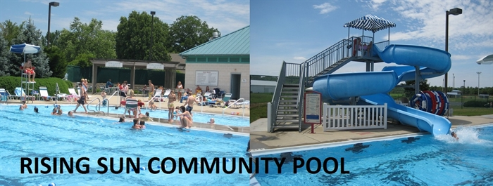RISING SUN COMMUNITY POOL OPENS SATURDAY, MAY 23