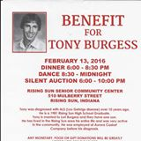 Benefit For Tony Burgess