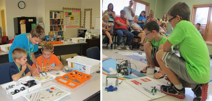 LEGO ROBOTIC CAMP DATES SET AT EDUCATION CENTER OF RISING SUN