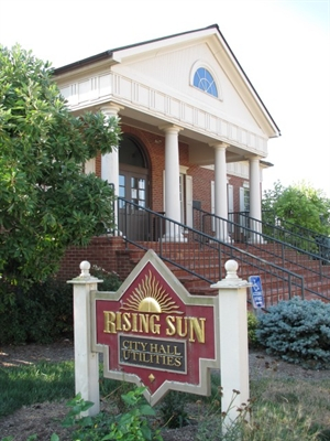 Like Us On Facebook! City of Rising Sun